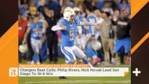 Chargers Beat Colts: Philip Rivers, Nick Novak Lead San Diego To 19-9 Win