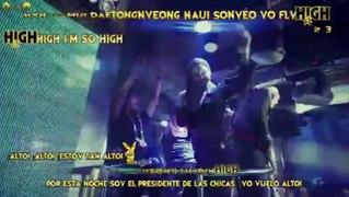 GD&TOP HIGH HIGH sub espanol karaoke
