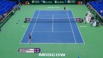 Moskau: Rybarikova kämpft sich zurück