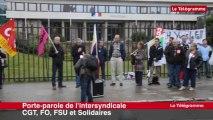 Saint-Brieuc. Réformes des retraites : environ 80 manifestants