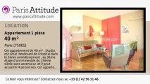 Appartement Studio à louer - Jardin des Plantes, Paris - Ref. 6735