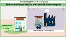 Périmètre opérationnel : cas des entreprises