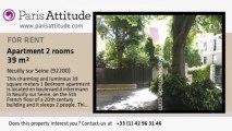 1 Bedroom Apartment for rent - Neuilly sur Seine, Neuilly sur Seine - Ref. 3512