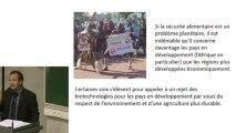 OGM  Conférence Laurent Ravez : Manipulations génétiques et grand public: espoirs, malentendus, fantasmes, déceptions et mensonges