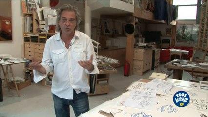 Titouan Lamazou et l'art participatif / Groupe La Poste - Tous formidables - Tous Artistes