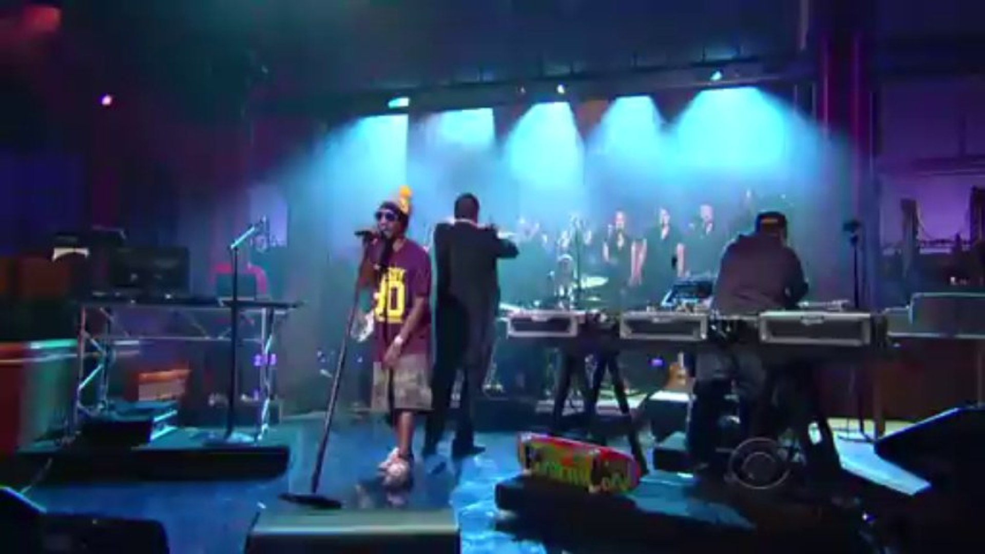 Deltron 3030 - City Rising From the Ashes [Live on David Letterman]