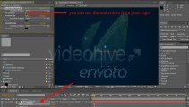 Diamonds Logo Creating - After Effects Template