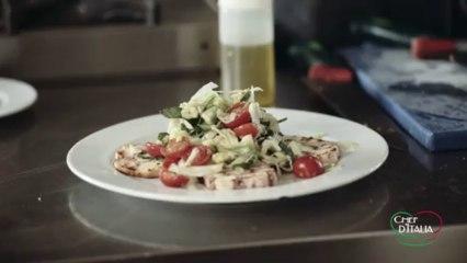 Ricetta Polpo Alla Griglia. Chef D'Italia