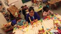 Rythmes éducatifs : Atelier jeux de construction à l'école Vandrezanne (13ème)