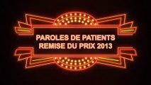 Lauréat 2013 - Prix Paroles de Patients