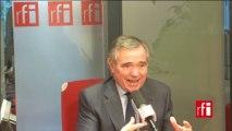 Bernard Accoyer, député UMP de Haute-Savoie, ancien président de l'Assemblée nationale