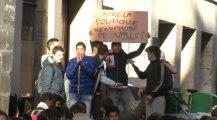 Les lycéens parisiens manifestent contre les expulsions