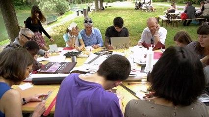 VEDUTA - Biennale de Lyon -  EP01 : initiation / Groupe La Poste - Tous formidables - Tous Artistes