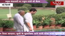 RAHUL GANDHI HOLDS MEETINGS ON KEY MINISTRIES