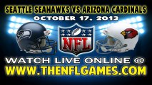 Watch Seattle Seahawks vs Arizona Cardinals Live Streaming Game Online