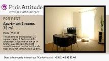 1 Bedroom Loft for rent - Canal St Martin, Paris - Ref. 2429