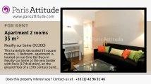 1 Bedroom Apartment for rent - Neuilly sur Seine, Neuilly sur Seine - Ref. 8395