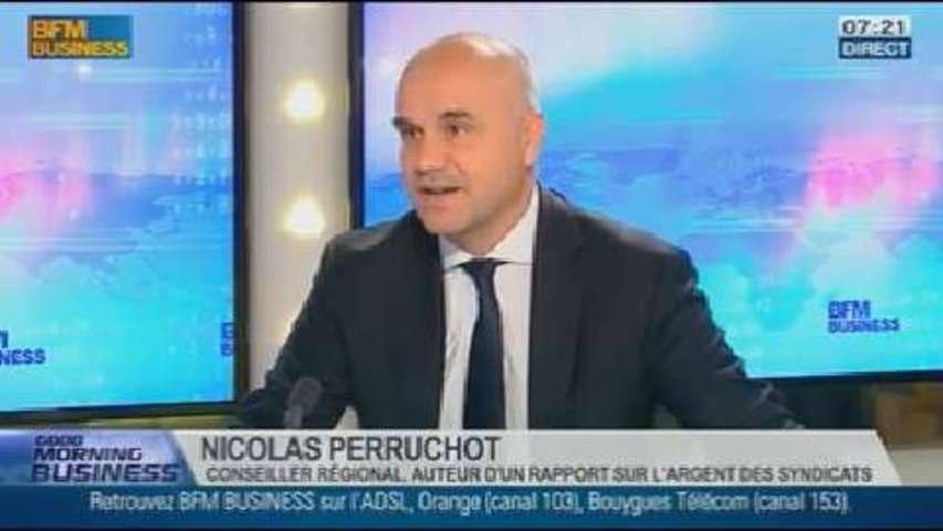 Révélation sur le financement des syndicats, Nicolas Perruchot, dans GMB - 18/10