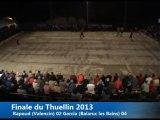 Finale, Challenge Roger Audi, Sport-Boules, Thuellin 2013