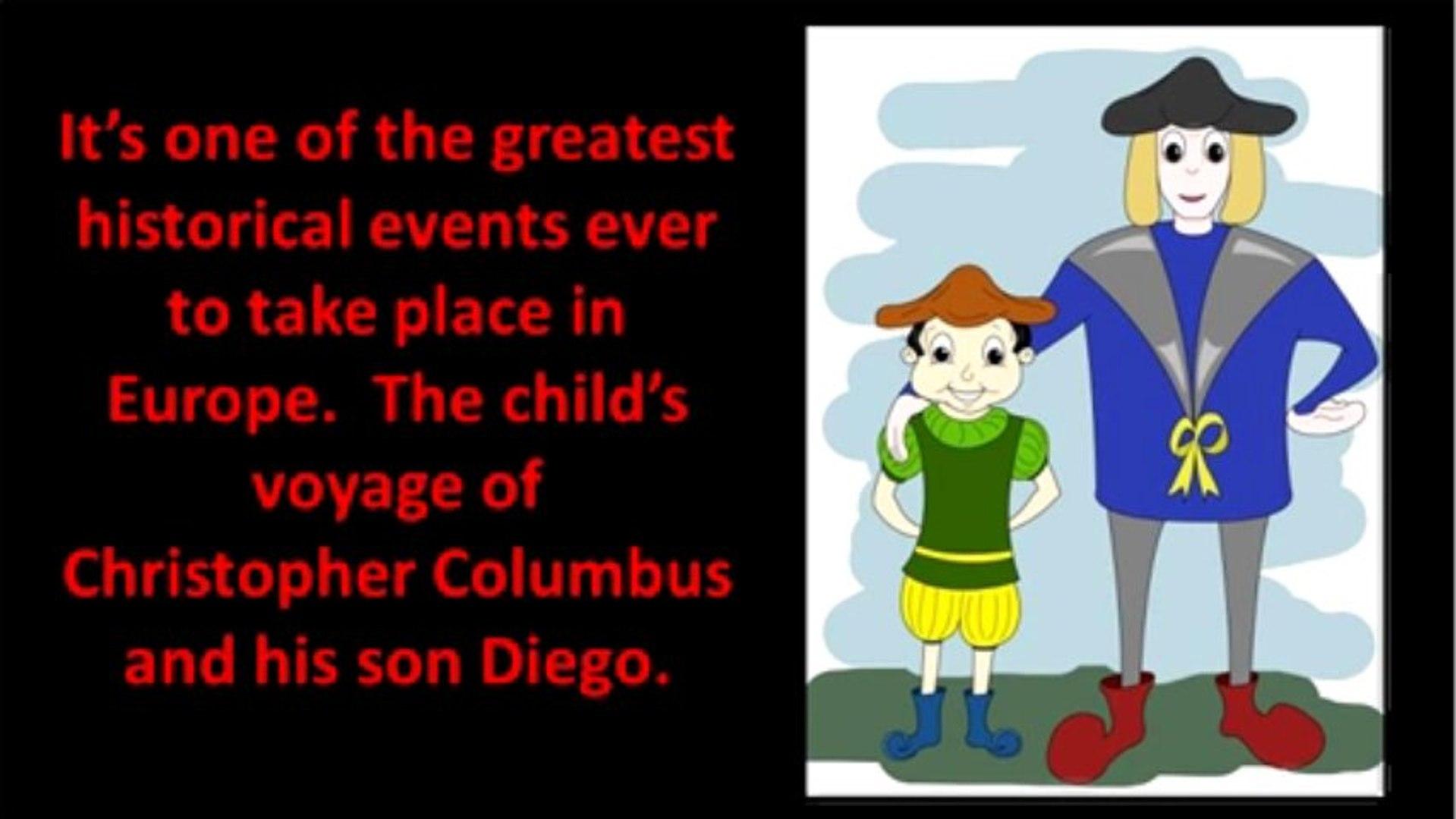 Christopher Columbus Leaving Palos, Spain, Aboard the Santa Maria on His 1st Voyage