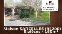 A vendre - maison/villa - SARCELLES (95200) - 5 pièces - 160m²