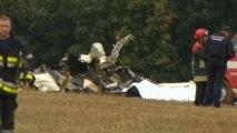 Skydivers' plane crashes in Belgium, 11 killed
