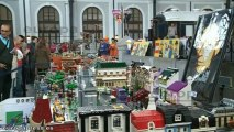El Museo del Ferrocarril acoge exposición de maquetas de Lego