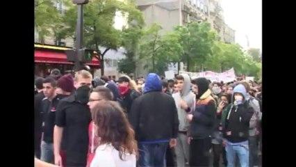 Paris (France) 19/10/2013 Manifestation pour le retour de Leonarda