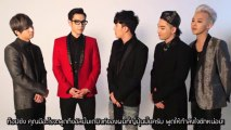 [Thaisub] V.I (from BIGBANG) - [LET'S TALK ABOUT LOVE] Message from BIGBANG]