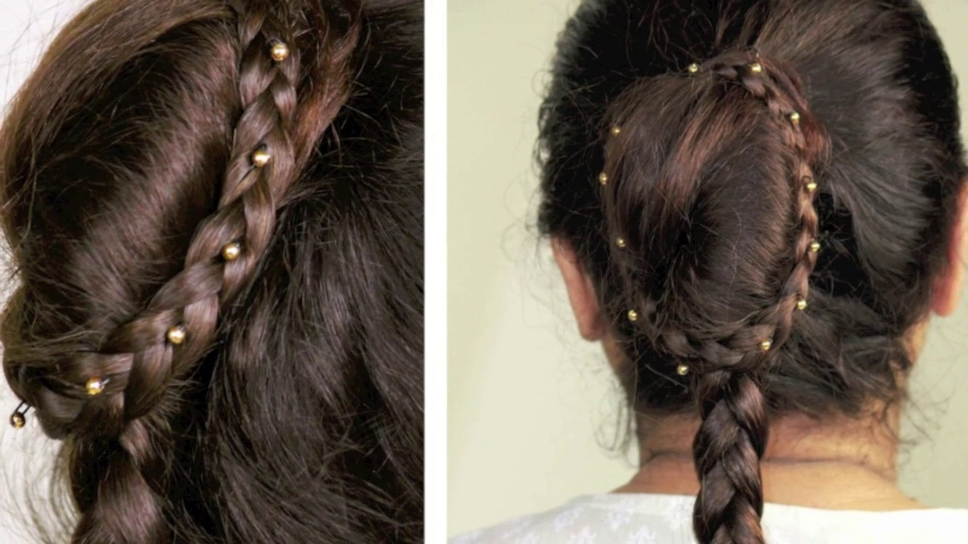 simple party hairstyle for bridal/reception/engagement/wedding