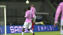 But Ladislas DOUNIAMA (78ème) - Evian TG FC - EA Guingamp (1-2) - 2013/2014