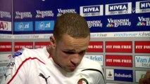 20-02-11 Luc Castaignos na ADO Den Haag - Feyenoord