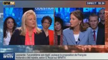 BFM Politique: L'interview de BFM Business, Ségolène Royal répond aux questions d'Hedwige Chevrillon –- 20/10 2/5