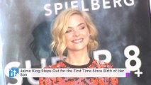 Jaime King Steps Out For The First Time Since Birth Of Her Son