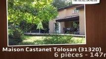 A vendre - maison - Castanet Tolosan (31320) - 6 pièces - 147m²
