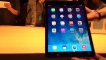 L'iPad Air, la nouvelle génération de tablettes d'Apple
