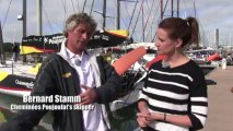 Fitness session for the singlehanded skippers onboard the Imoca 60 boats