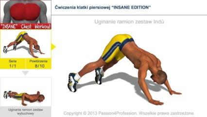 """Ćwiczenia klatki piersiowej """"INSANE EDITION"""""""