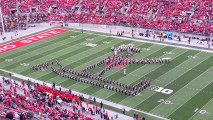 Ohio State Marching Band Forms Giant Michael Jackson!! OSU Marching Band - MJ Tribute 2013