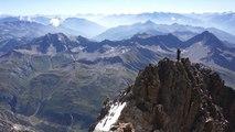 Grandes Jorasses Face Sud Arête du Tronchey Chamonix Mont-Blanc massif