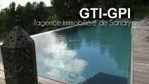 A VENDRE VILLA CONTEMPORAINE piscine vue mer Type CALIFORNIEN à BANDOL ( agence immobilière de sanary ) gti