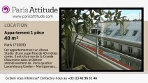 Appartement Alcove Studio à louer - Jardin du Luxembourg, Paris - Ref. 4860