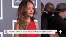 Rihanna Asked To Leave Mosque After Posing For Photos
