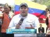 Trabajadores de Dianca marchan desde Puerto Cabello hasta Caracas para exigir firma de contrato colectivo