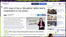 HTC Says It Has ?disruptive? Ideas In The Works