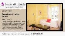 Appartement Studio à louer - Canal St Martin, Paris - Ref. 613