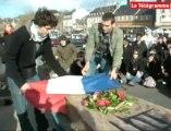 Lannion (22). Les étudiants enterrent leur IUT