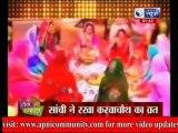 Sanchi Aur Prachi Ka Rakha Karwachauth Ka Vrat-Jee Le Zara-22 Oct 2013