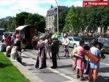 Quimper,Tour de Bretagne en roulotte : l'arrivée