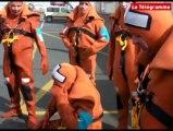 Lesconil (29). Des marins pêcheurs se forment à la survie en mer